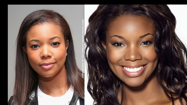 Black Celebrities No Makeup