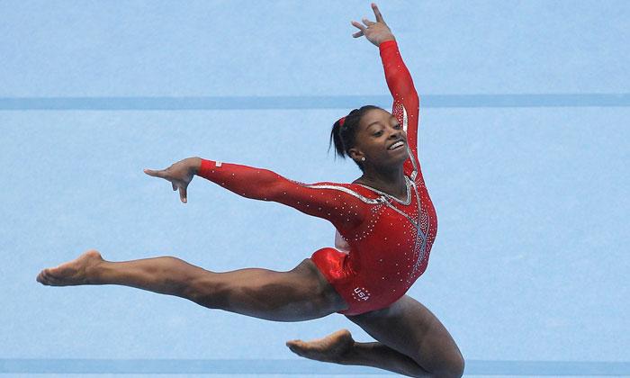 Black Gymnast 54